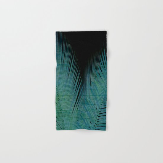 Night Palm Hand & Bath Towel
