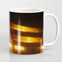 the lights Mugs featuring Lights by Art de L'aube