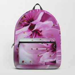 Colorful Cherry Blossom Flowers Backpack
