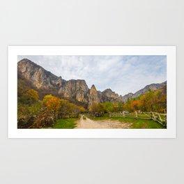 Cheile Turenilor, Romania Art Print