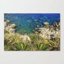 Zarbo di mare, Sicily Canvas Print