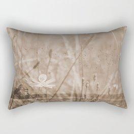 Landscape behind the dike Rectangular Pillow