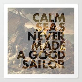 Calm Seas Art Print