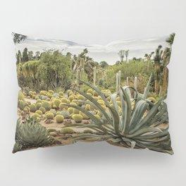 Succulents at Huntington Desert Garden No. 3 Pillow Sham