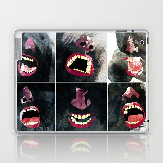 9 gritos Laptop & iPad Skin