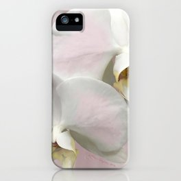 BLUSHING PINK ORCHIDS iPhone Case