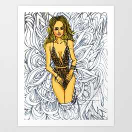 Printable Sexy Adult Coloring Book | Lingerie | Erotic Art | Color Page | Mature | Lace & Mesh | Fun Art Print
