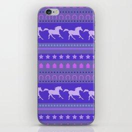 Horse Pattern iPhone Skin