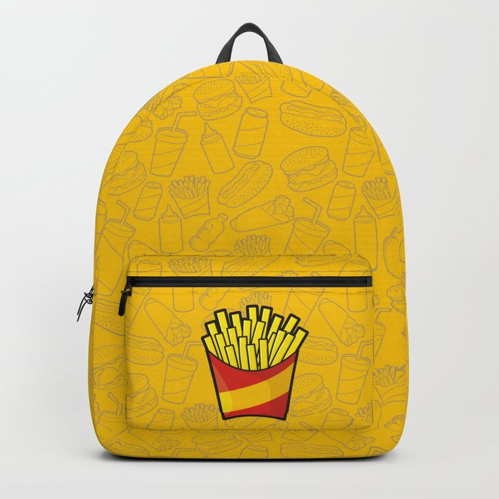 French Fries Backpack