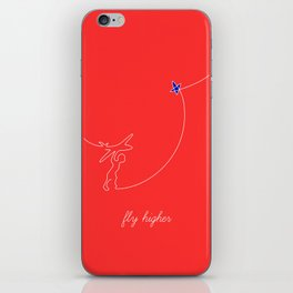 Fly higher iPhone Skin