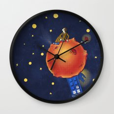 The Prince and the Rose Wall Clock