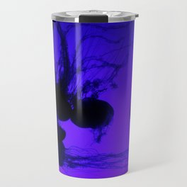 Jellyfish - Bright Blue Travel Mug