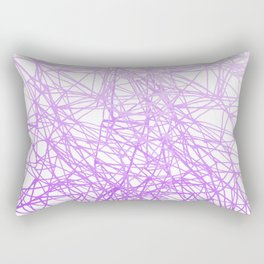 my thoughts about life Rectangular Pillow