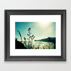 View from Lion Rock Framed Art Print