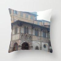 italy Throw Pillows featuring Italy by NekoYuki
