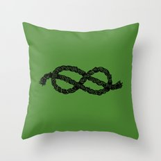 Common Rope Logo Throw Pillow