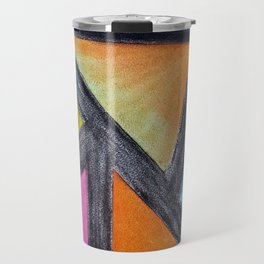 Connectivity in Lines Travel Mug