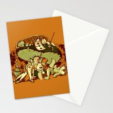 STONED IN WONDERLAND [REMIX] Stationery Cards