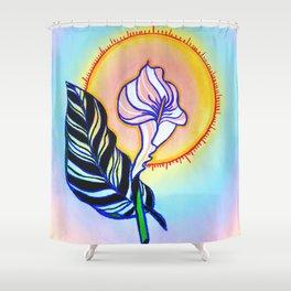 Zantedeschia Shower Curtain