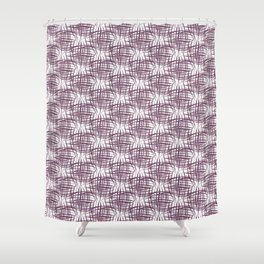 Hashy - Wine Shower Curtain