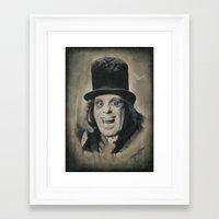 alisa burke Framed Art Prints featuring Professor Edward C. Burke by Darwin Enriquez