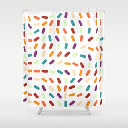 Jellybeans Shower Curtain