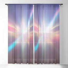 Impulse power Sheer Curtain