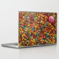 kirby Laptop & iPad Skins featuring Kirby Pebbles by Cody Ramsey