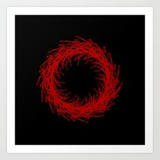 Spiral Out, Keep Going... Art Print