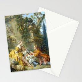 """François Boucher """"Charms of Country Life (Les charmes de la vie champêtre)"""" Stationery Cards"""