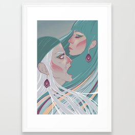 grandmother Framed Art Print