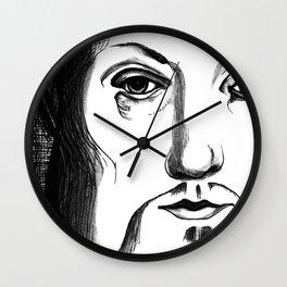 King Henry VIII Portrait Wall Clock