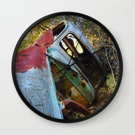 Natural Wreck Wall Clock