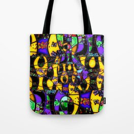Dance in gold Tote Bag