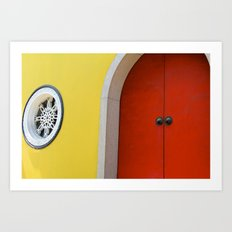 Temple Door Art Print