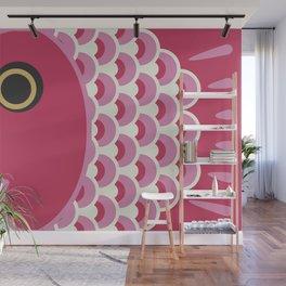 Koinobori | Pink Wall Mural