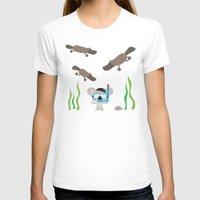 swim T-shirts featuring Swim Koala, Swim by Ink Robin
