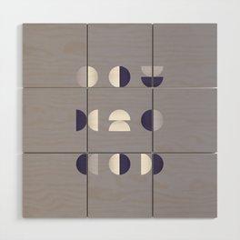 Geometrica - Color Study - 1/7/2019 - Graphic Art Print Wood Wall Art