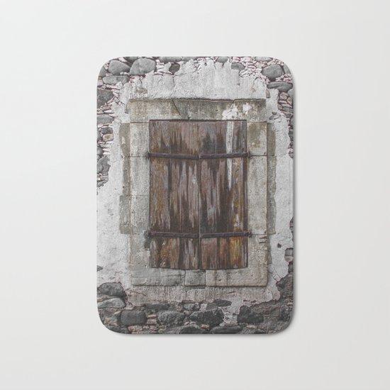 Wooden Window Bath Mat
