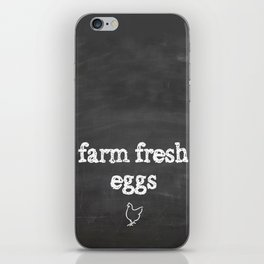 Farm Fresh iPhone Skin