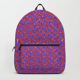 pink japanese circles polka pattern Backpack