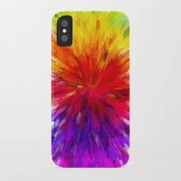 Colors of Life iPhone Case