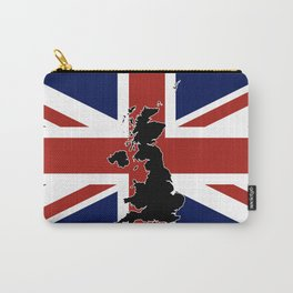 UK Silhouette and Flag Carry-All Pouch