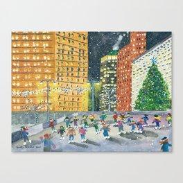 Christmas on Woodward Avenue Canvas Print