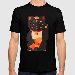 Beckoning Cat T-shirt