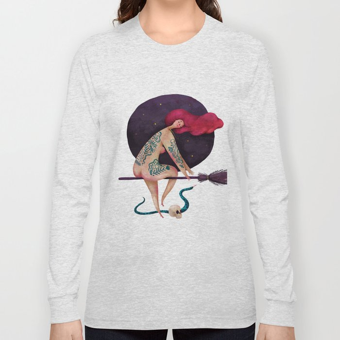 Sexy witch Long Sleeve T-shirt
