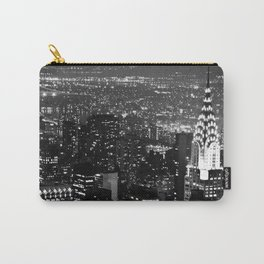 A Classic Dark Carry-All Pouch