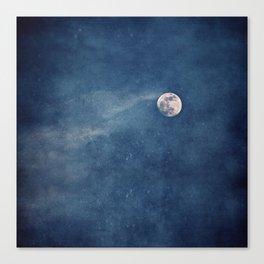 Full Moon Magic Canvas Print