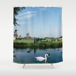 A Beautiful Dutch Scene Shower Curtain