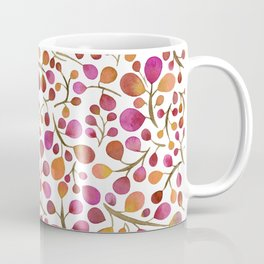 Tangle of Leaves - Autumn Berries Coffee Mug